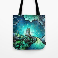 Love goes on and on Tote Bag