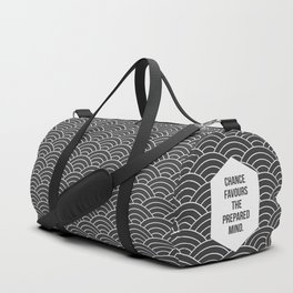 Chance Favours the Prepared Mind Duffle Bag
