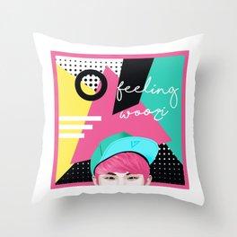 Feeling Woozi Throw Pillow