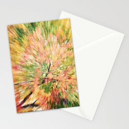 FALL CANOPY ABSTRACT Stationery Cards
