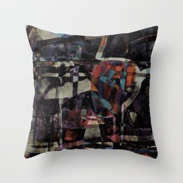 disquiet twenty five (I'm absent from the place I ought to be) Throw Pillow