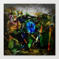 ukraine Canvas Prints featuring UKRAINE by lucborell