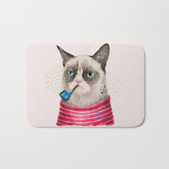 Sailor Cat II Bath Mat