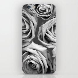 BW Roses iPhone Skin