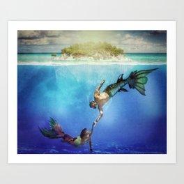 Magical Kingdoms Art Print