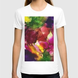 colorful barf T-shirt