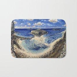 Balos Lagoon Crete Bath Mat