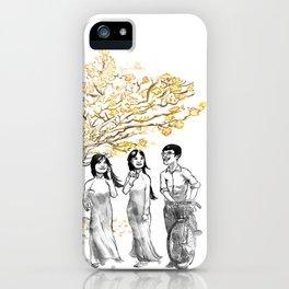 Ao Dai iPhone Case