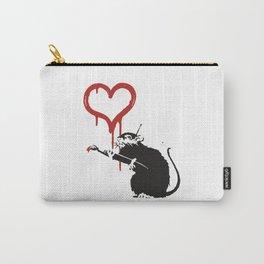 Love rat - Banksy Graffit Carry-All Pouch