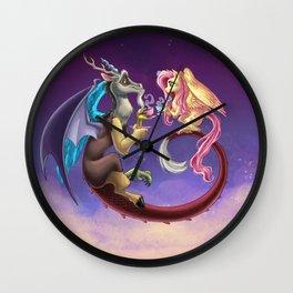 Fluttercord Tea Time Wall Clock