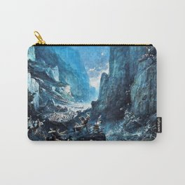 12,000pixel-500dpi - Gustave Dore - Roland1 at Roncevaux - Digital Remastered Edition Carry-All Pouch