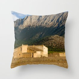 Parque Natural De Sierra Maria-Los Velez Throw Pillow