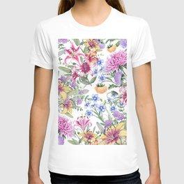 FLORAL WATERCOLOR 10 T-shirt