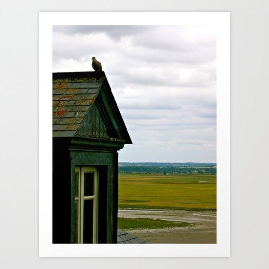 Mont Saint Michel #1 - A House Art Print