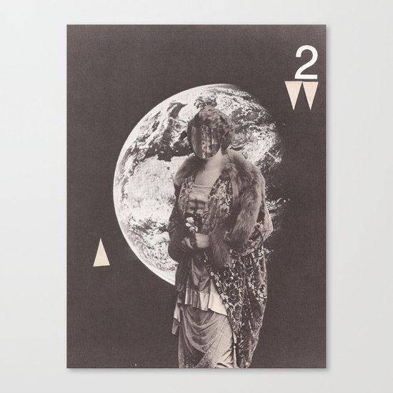 Visitor Queen (no. 2) Canvas Print