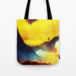 This volcano is mine Tote Bag