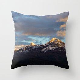 Sunset of Provence Throw Pillow