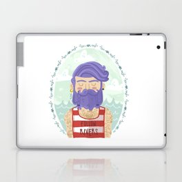 Follow Rivers Laptop & iPad Skin