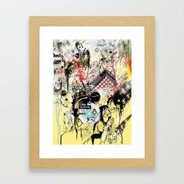 This Is Not Art Framed Art Print