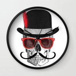 Cool Skull Wall Clock