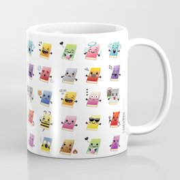 Bookiemoji Party Coffee Mug