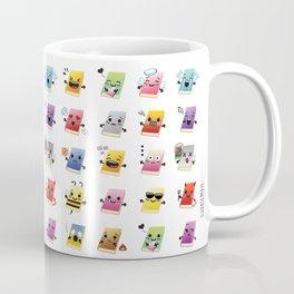 Bookiemoji Party Coffee Mug