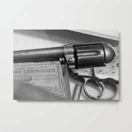 THE OLD COLT Metal Print