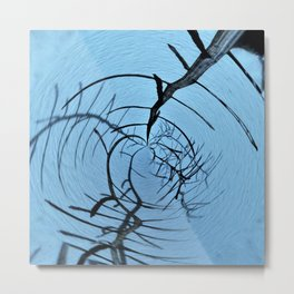 abstract whirl tree Metal Print