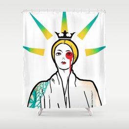 APRO-goddess Shower Curtain
