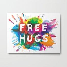 free hugs Metal Print
