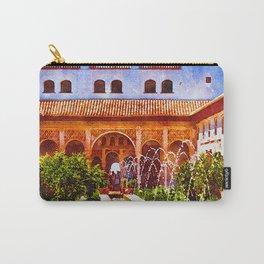 Palacio de Generalife Alhambra, Granada, Spain Carry-All Pouch