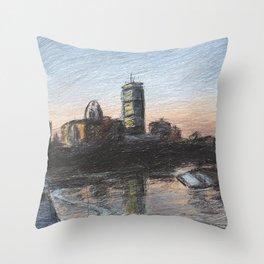 Charles River Esplanade 5 Throw Pillow