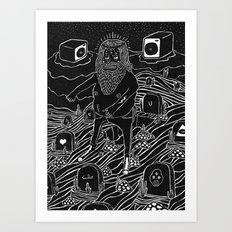 muerto viviente Art Print