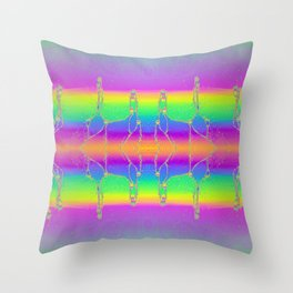 Soapscape Throw Pillow