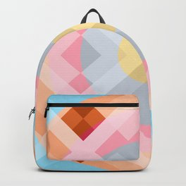 Colorful Retro Pattern 2 Backpack