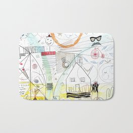 A Family Collaboration - 'No Place Like Home' Bath Mat