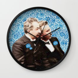 PIXEL LUMIERE BROS Wall Clock