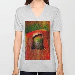 Door -Abstract Unisex V-Neck