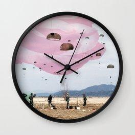 parachute rose Wall Clock
