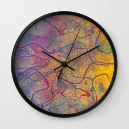 Abstract No. 220 Wall Clock