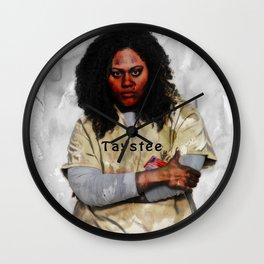 Taystee Wall Clock
