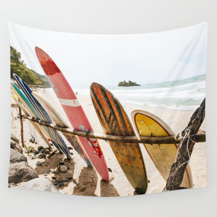 Surfing Day 2 Wall Tapestry