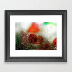 Rain, Rain, Rain, please go away! Framed Art Print