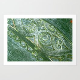 celtic band Art Print