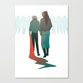 Permets-tu? Canvas Print
