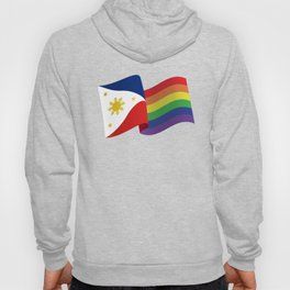 Philippine Rainbow Pride Flag Unofficial Hoody