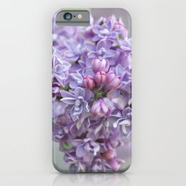 Lilac Loveliness  iPhone Case