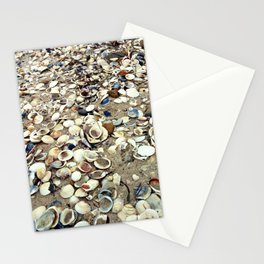 Scattered Shells Stationery Cards