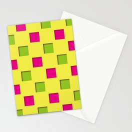 Japanese checkered pattern #2 Stationery Cards