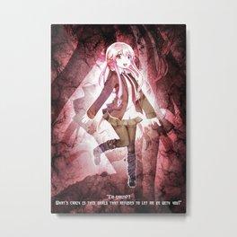 Yuno Gasai Metal Print